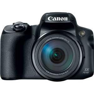 Canon PowerShot SX70 HS Digital Camera - 2 Year Warranty - Next Day Delivery