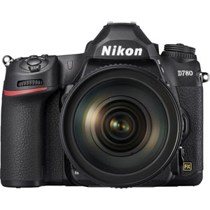 Nikon D780 DSLR Camera with 24-120mm Lens - 2 Year Warranty