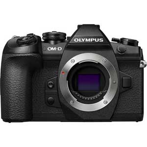 Olympus OM-D E-M1 Mark II Mirrorless Micro Four Thirds Digital Camera (Black, Body Only) - 2 Year Warranty - Next Day Delivery