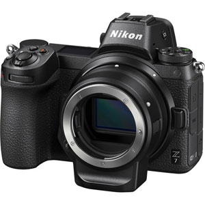 Nikon Z7 Mirrorless Digital Camera with FTZ Mount Adapter Kit - 2 Year Warranty